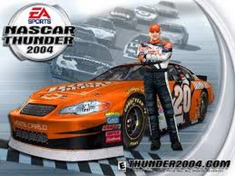 Screwing Around in Nascar Thunder 2004! - Lowe's Motor  Speedway!