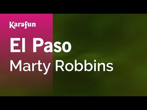 Karaoke El Paso - Marty Robbins *