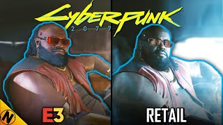 Cyberpunk 2077 Reveal (2018) vs Retail (2020) | Direct Comparison