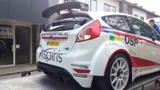 Ford Fiesta R5 WRC startup sound