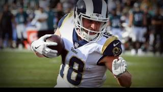 Cooper Kupp    Rams Young Star Receiver    2017 Rookie Highlights
