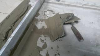видео Особенности применения клея для большой плитки
