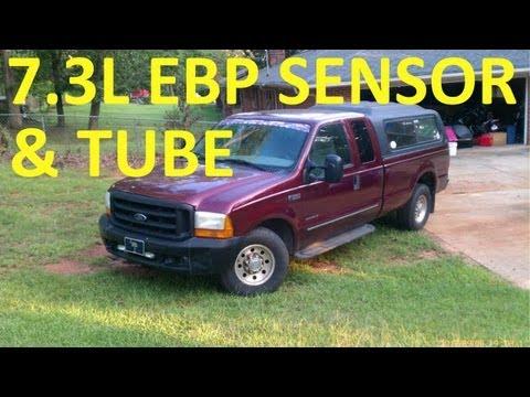 Exhaust Back Pressure Sensor 7.3L Ford...