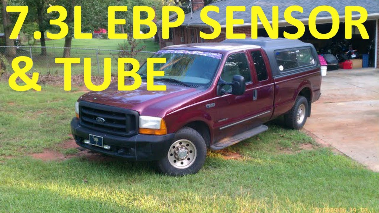 Exhaust Back Pressure Sensor 7 3l Ford Diesel Ebp