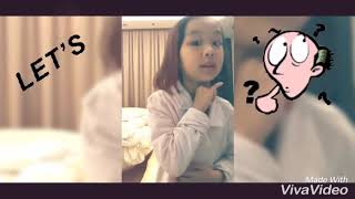 Human Body Parts | The understanding of human body parts by a 6 years old girl | Learning Stage