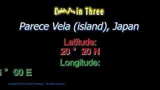 Parece Vela Japan - Latitude and Longitude - Digits in Three