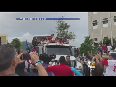Puerto Ricans In Boston Proud Of Red Sox Manager Alex Cora