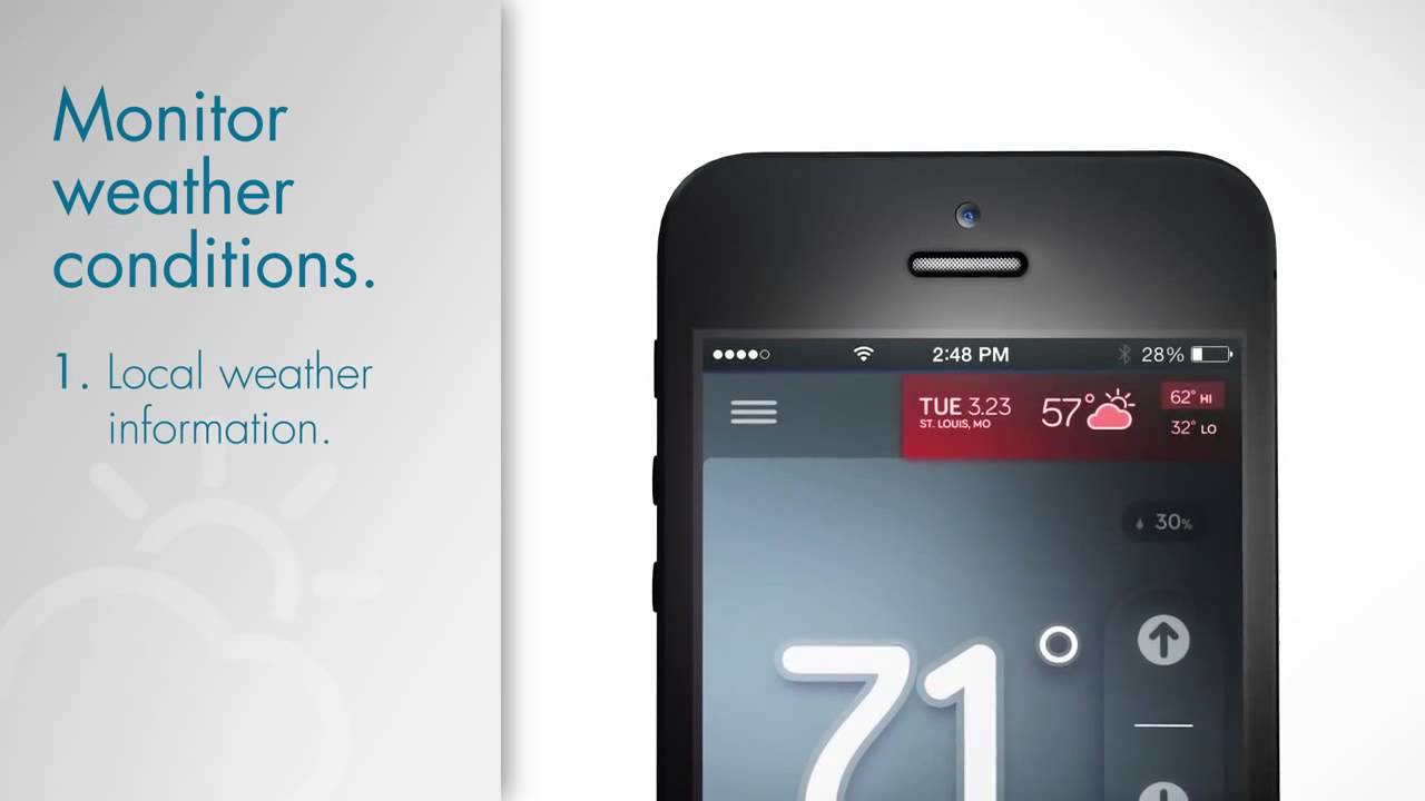 Sensi Wi Fi Thermostat - Control Home Temperature from a Smartphone, Tablet  or PC