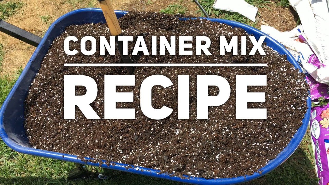 How To Make Potting Mix For Containers Growing Peppers And Other