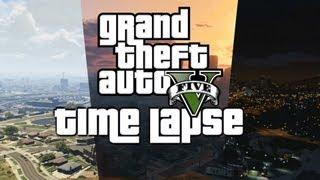 GTA V: Los Santos Time Lapse