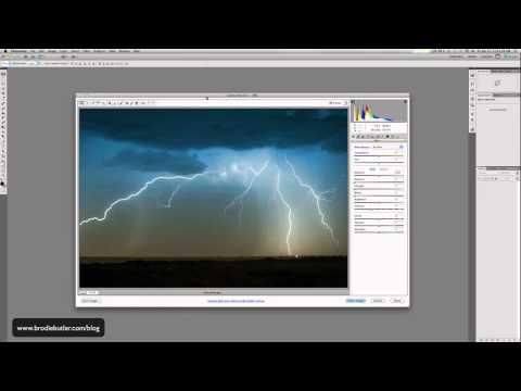 Photoshop Tutorial: Open a JPG in Camera RAW