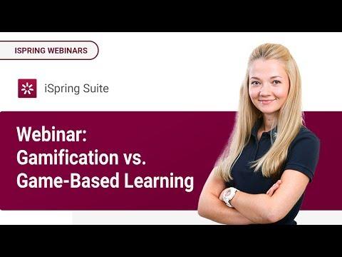 Webinar: Gamification vs. Game-Based Learning