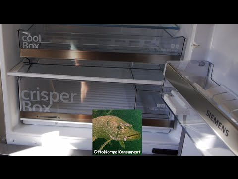 Siemens Kühlschrank Fresh Cool : Review cm kühl gefrierkombi siemens kg ebi youtube