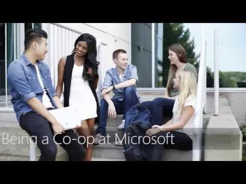 Microsoft Canada's Co-op Program Recruitment
