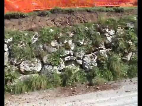 Il vecchio muro di via Matteo Ossi
