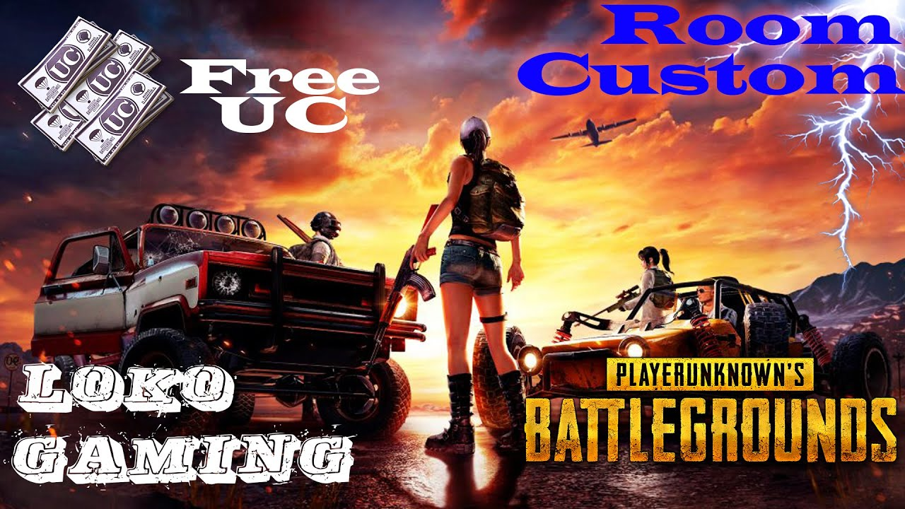 PUBG MOBILE   FREE CUSTOM ROOM    FREE UC    NO ENTRY FEE