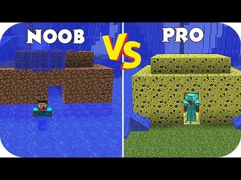 NOOB VS PRO: LOS TSUNAMIS EN MINECRAFT (PARTE 1) thumbnail
