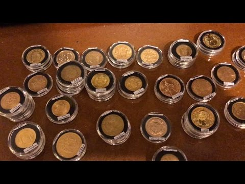 Reorganized Gold Stack - Old World Coins & Modern Fractional Bullion