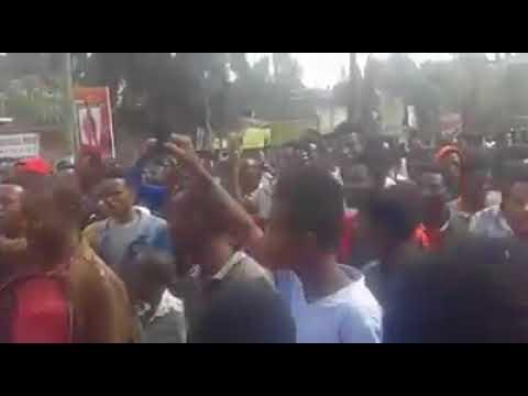 Protest in Shashemene, Ethiopia (Oromia Region)