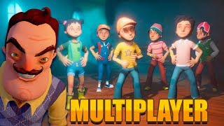 NOVO HELLO NEIGHBOR MULTIPLAYER! (ASSUSTADOR) 😱