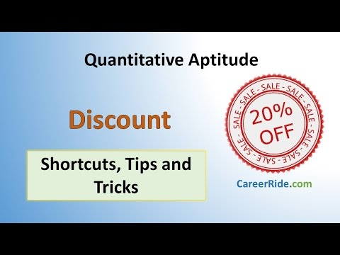 Discount - Shortcuts & Tricks for Placement Tests, Job Interviews & Exams