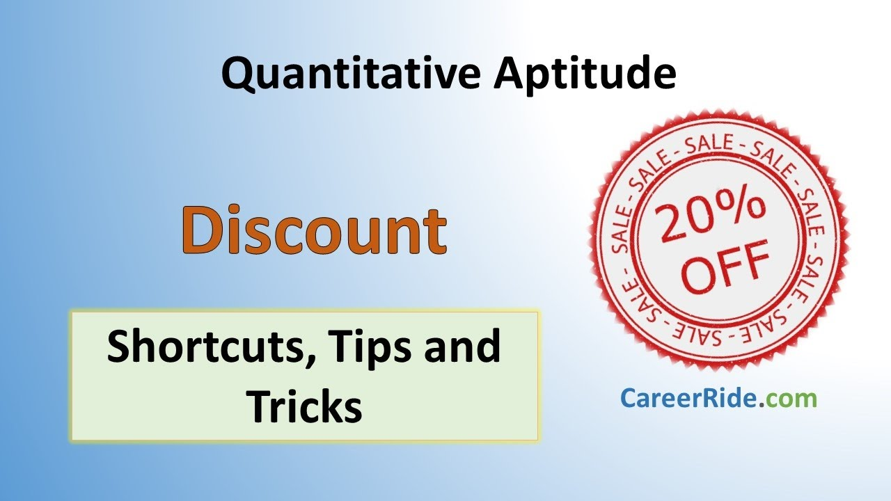 Download Discount - Shortcuts & Tricks for Placement Tests, Job Interviews & Exams