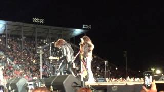 Aerosmith: Let The Music Do The Talking (opening), Live in Salinas, CA 2015