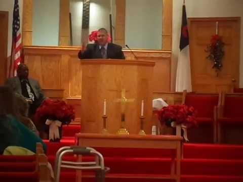 Dr Douglas Carter retirement service Rev Keith Jackson pt 1