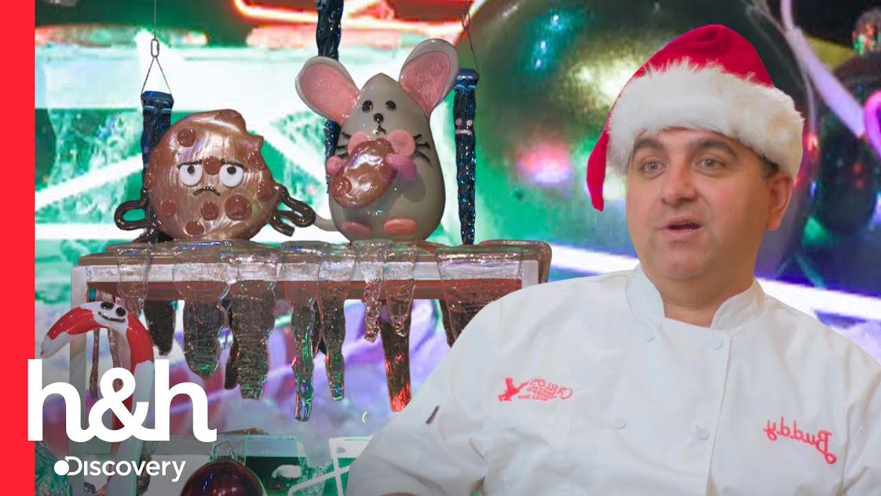 Download Ratón de cristal vence a Buddy en azucarado duelo de pasteles | Buddy Vs. la navidad | Discovery H&H