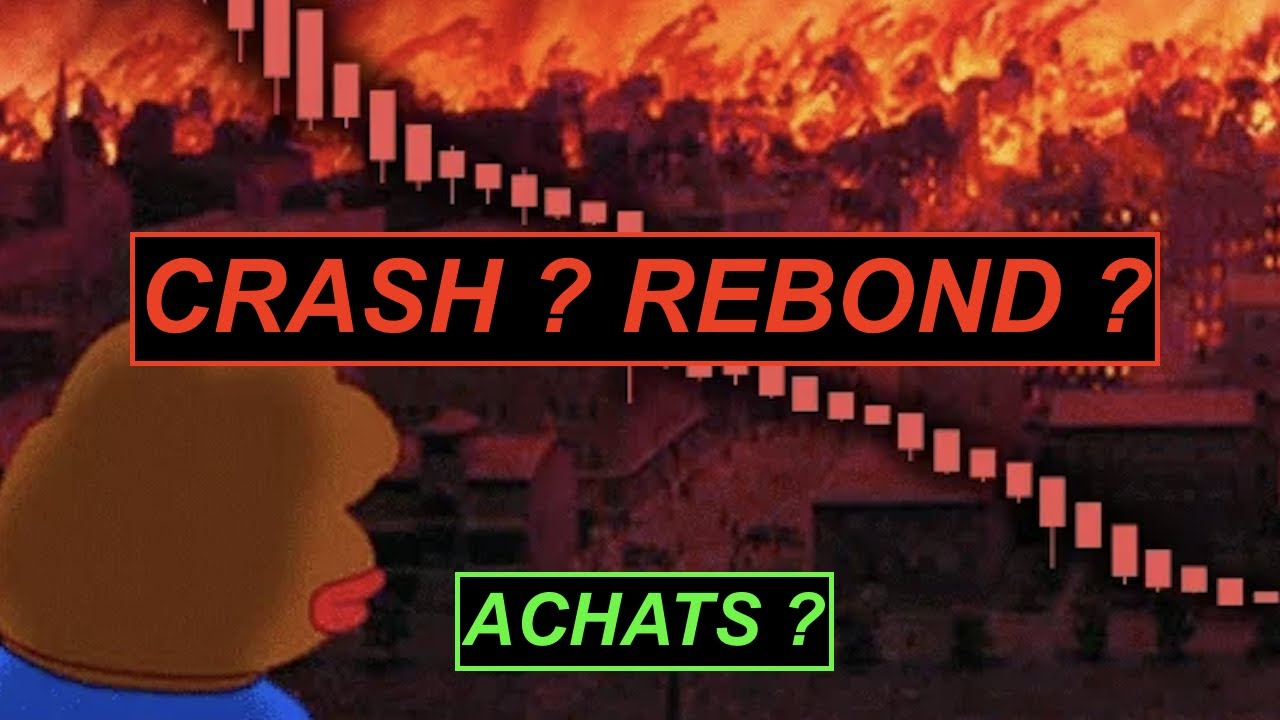BITCOIN CRASH !! REBOND ? ZONE D'ACHATS ?