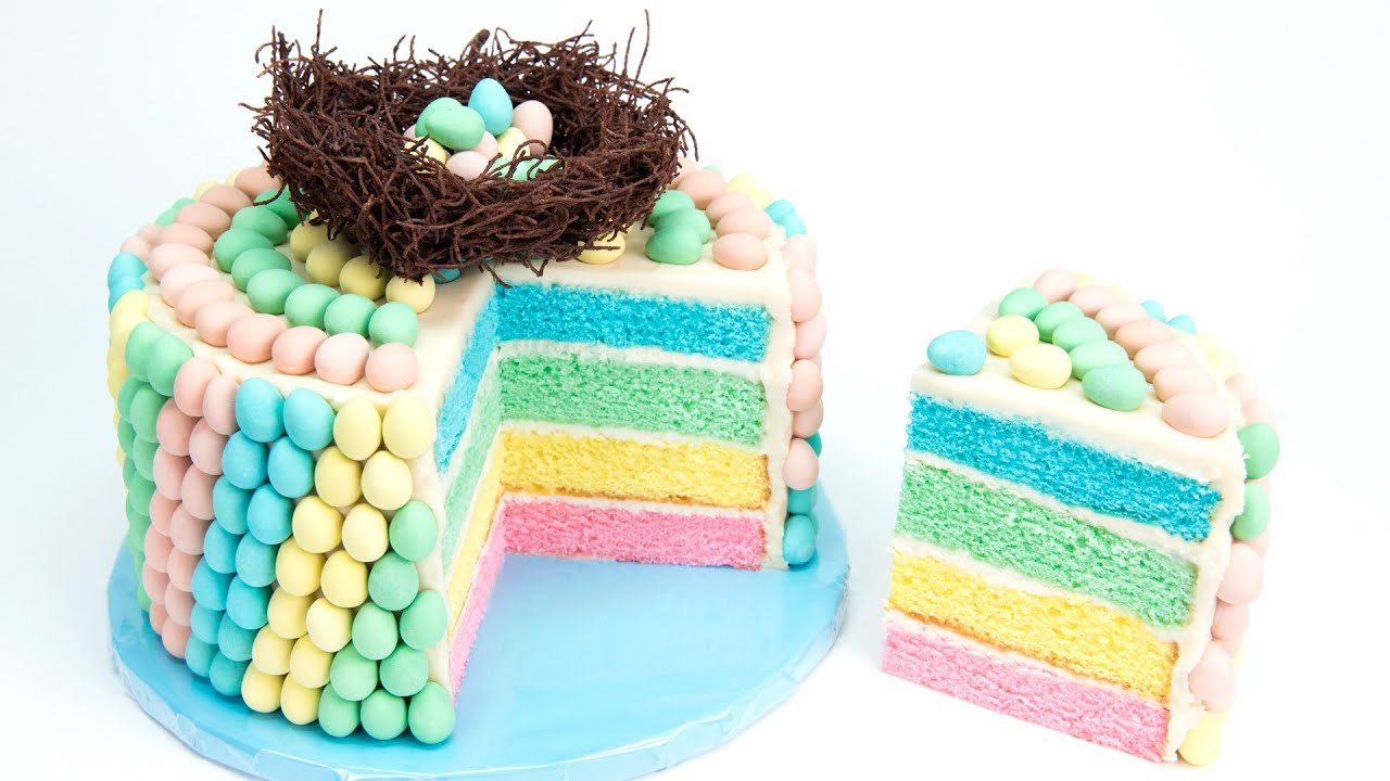 Cadbury Mini Eggs Cake Chocolate Easter Egg Cake From Cupcakes And