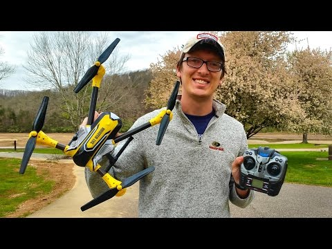 Дрон K70 Sky Warrior: 2016's Best Toy Camera Drone до 300 метра обвхат 12