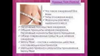 Отзыв врача-Капсулы для похудения Skinny Fiber