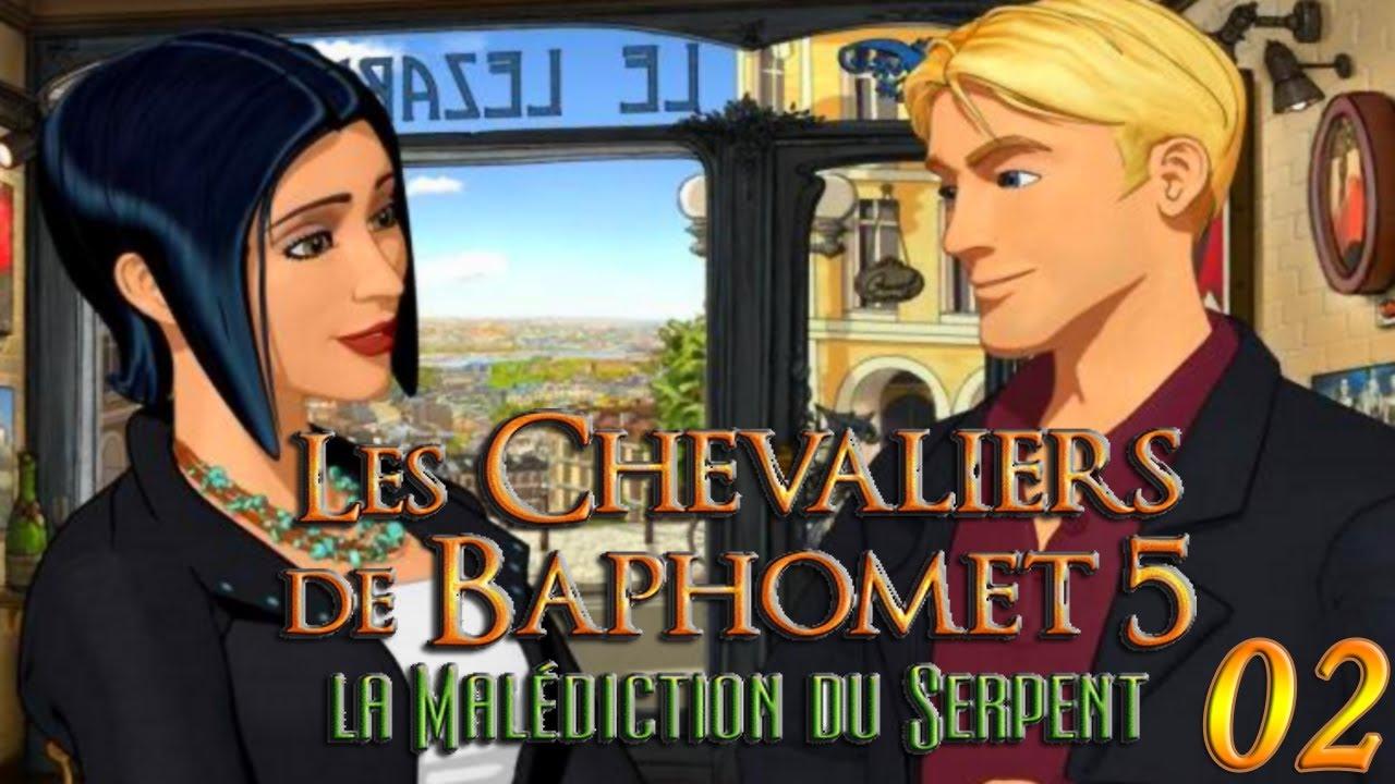 les chevaliers de baphomet 5 episode 2