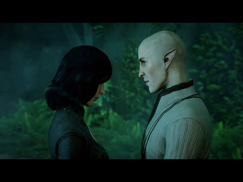 Dragon Age: Inquisition. Complete Solas Romance