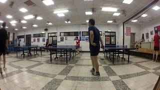 Repeat youtube video Ping Pong Match Between Friends