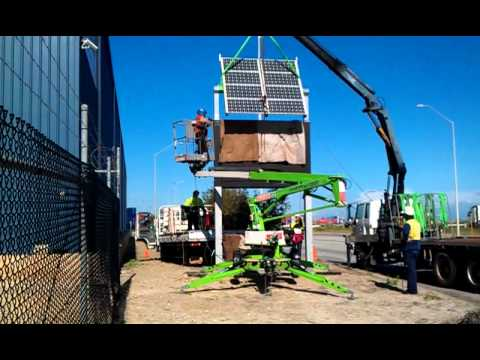 Port Beach Solar Panel Install