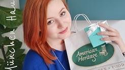 Haul #4 | München | Mac | NUXE | Tiffany | Kringle | American Heritage