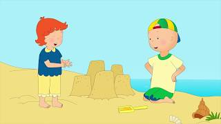 NEW! CAILLOU GOES TO THE BEACH | Videos ...