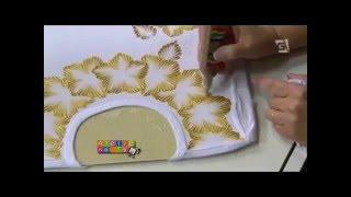 Artesanato – Camisetas com Dimensional Relevo 3D