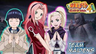 Naruto gekitou ninja taisen 4 -three man cell team maidens