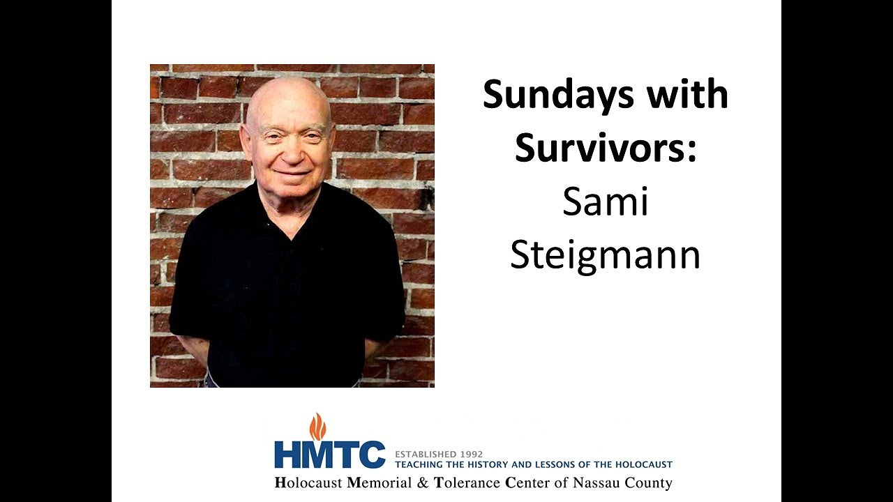 In conversation with Holocaust Memorial and Tolerance Center of Nassau County, NY
