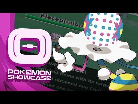 Pokemon Ultra Sun and Moon! Showdown Live: Enter Blacephalon - Blacephalon Showcase!