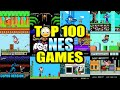 Top 100 NES Games In Eleven Minutes