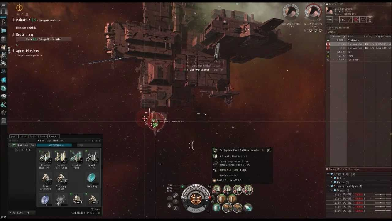EVE Online: Angel Extravaganza, Maelstrom in Hisec L4s