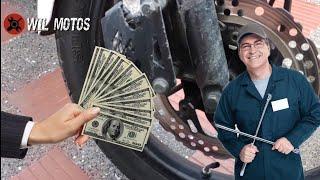 cómo cambiar las pastillas de freno de tu moto no pagues por esto, este procedimiento es fácil