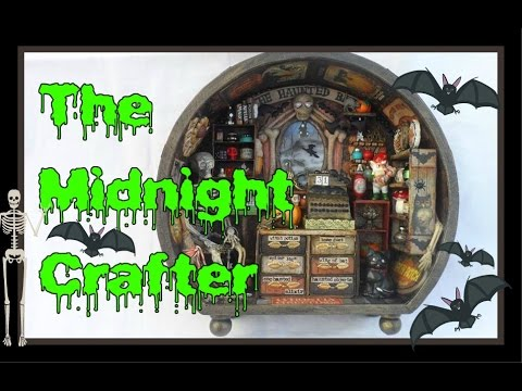 THE HAUNTED BAT SHOP TOUR - Handcrafted by The Midnight Crafter