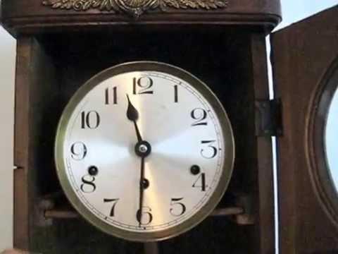 นาฬิกาแขวน 3 ลาน สไตล์ฝรั่งเศส แท่นแส้เสียง KIENZEL