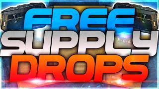 "Advanced Warfare - How To Get Free ""Advanced Supply Drops""! (COD AW Elite Advanced Supply Drops)"