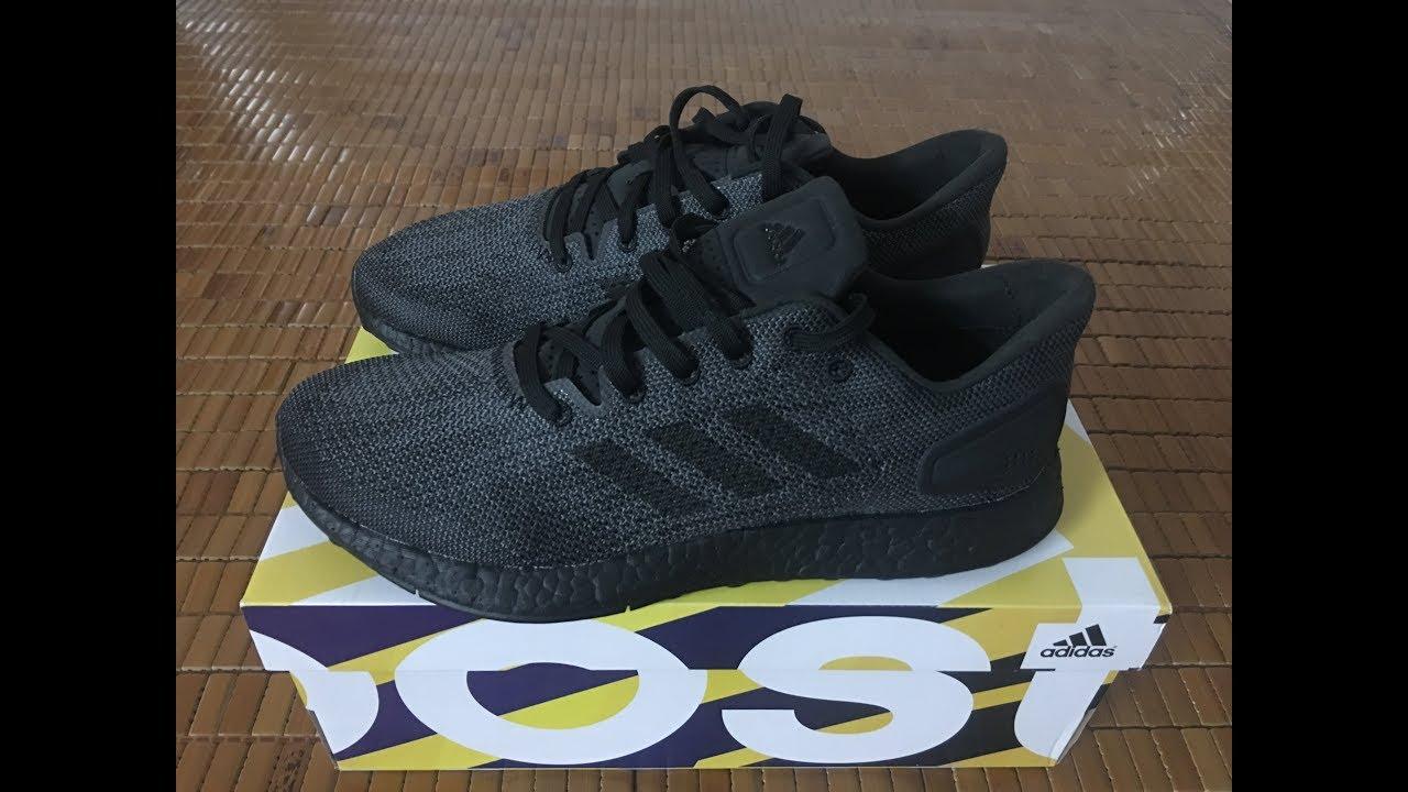 59716875a Adidas PureBoost DPR LTD Shoes - BB6303 - Core Black  TYT  - YouTube